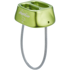 AustriAlpin Tuber Dispositivo di assicurazione arrampicata, lime-green anodised